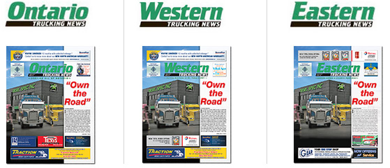 Trucking News Covers
